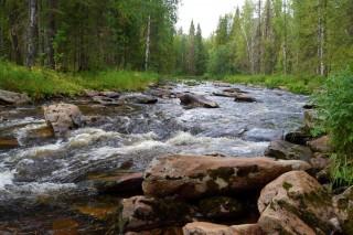 Река Коростелевка, автор Я.Кутузов