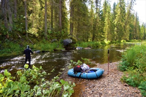 Обследование реки Коростелевка