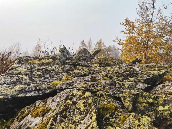 Осень в горах. Автор Лев Арамилев